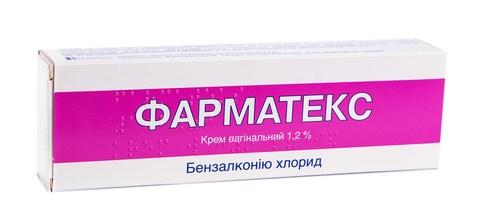 Фарматекс крем вагінальний 1,2 % 72 г 1 туба