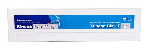 Засіб внутрішньоматковий протизаплідний Юнона Біо-Т Ag 1 шт