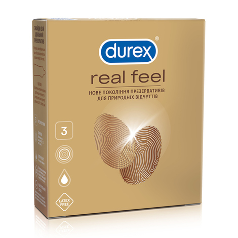 Durex Презервативи Real Feel 3 шт