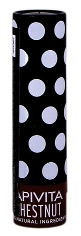 Apivita Бальзам для губ з каштаном відтінковий 4,4 г 1 стік