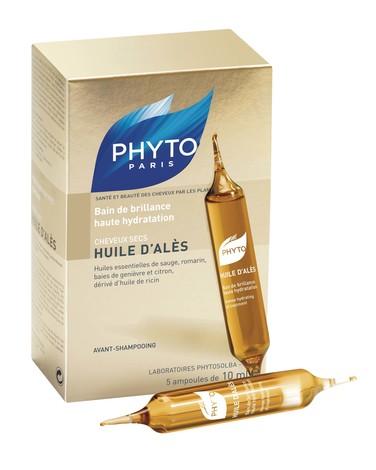 Phyto Олійка Алеса для сухого волосся 5х10 мл 1 шт