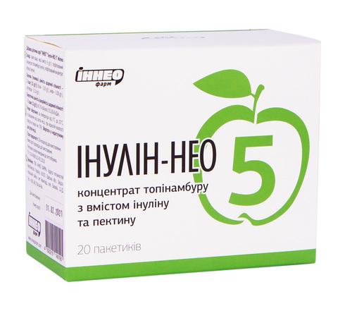 Інулін-Нео 5 яблуко концентрат 20 саше