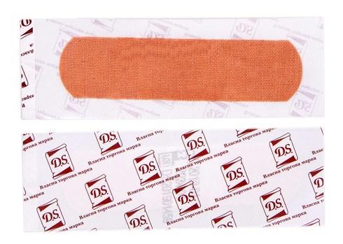 D.S. Пластир бактерицидний на тканинній основі 7,2х1,9 см 1 шт