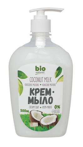 Bio Naturell Крем- мило рідке Кокосове молоко 500 мл 1 флакон
