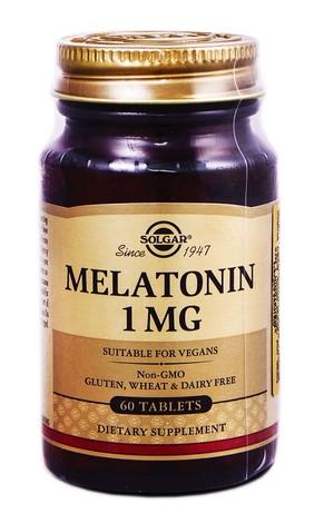 Solgar Мелатонін таблетки 1 мг 60 шт