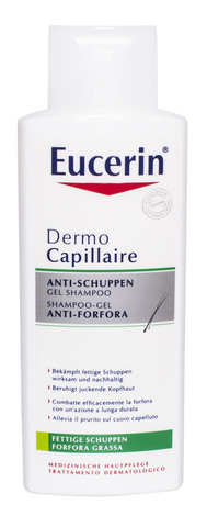 Eucerin DermoCapillaire Шампунь проти лупи для жирної шкіри голови 250 мл 1 флакон