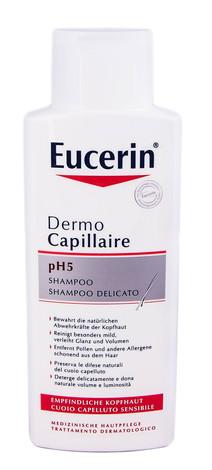 Eucerin DermoCapillaire Шампунь для чутливої шкіри голови pH5 250 мл 1 флакон