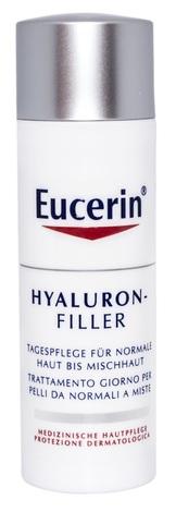 Eucerin Hyaluron-Filler Крем денний проти зморшок для нормальної та комбінованої шкіри 50 мл 1 флакон