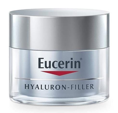 Eucerin Hyaluron-Filler Крем нічний проти зморшок 50 мл 1 банка