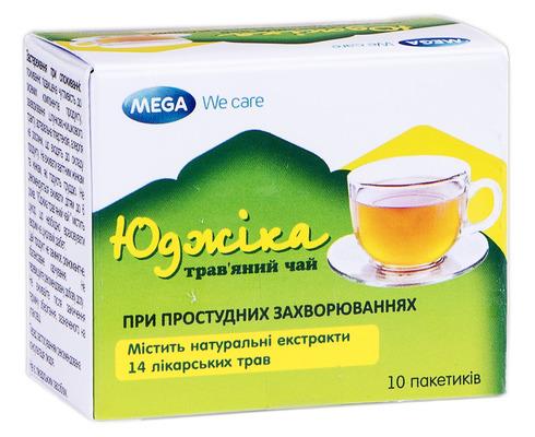 Юджіка трав'яний чай порошок 4 г 10 пакетів