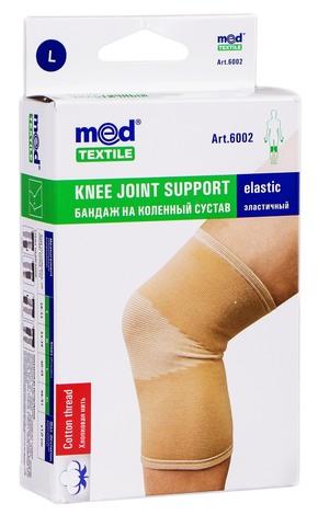 MedTextile 6002 Бандаж на колінний суглоб еластичний розмір L 1 шт