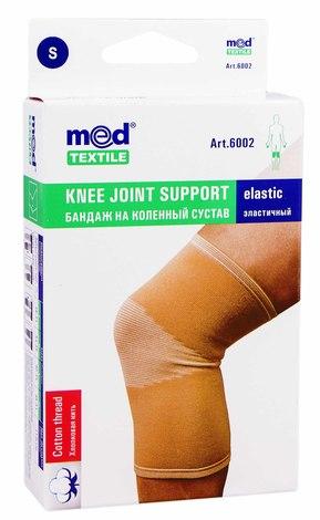 MedTextile 6002 Бандаж на колінний суглоб еластичний розмір S 1 шт