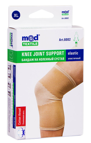 MedTextile 6002 Бандаж на колінний суглоб еластичний розмір XL 1 шт