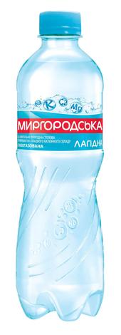 Миргородська Лагідна Вода слабогазована 0,5 л 1 пляшка
