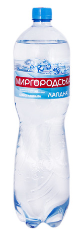 Миргородська Лагідна Вода слабогазована 1,5 л 1 пляшка