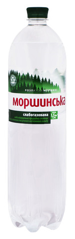 Моршинська Вода мінерально-столова слабогазована 1,5 л 1 пляшка