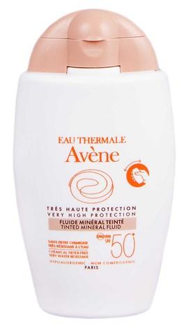 Avene Флюїд сонцезахисний тональний мінеральний SPF-50+ 40 мл 1 флакон