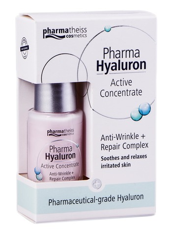 Pharma Hyaluron Сироватка проти зморшок+ відновлення 13 мл 1 флакон