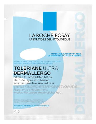 La Roche-Posay Toleriane Ультра Дермалерго маска заспокоююча тканинна 28 г 1 пакет
