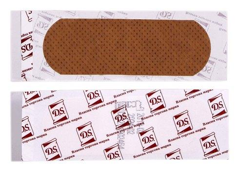 D.S. Пластир бактерицидний на нетканій основі еластичний 7,2х2,5 см 1 шт