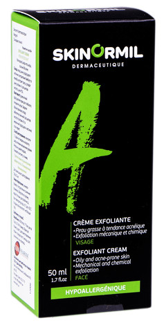 Skinormil Крем-ексфоліант для жирної та схильної до акне шкіри 50 мл 1 туба