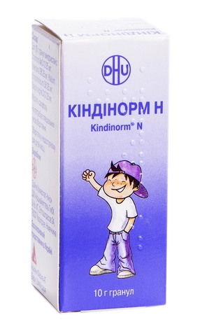 Кіндінорм H гранули 10 г 1 шт
