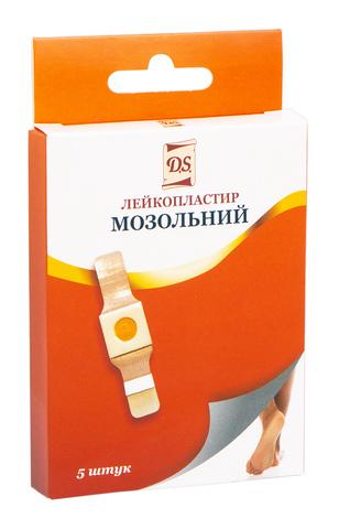 D.S. Пластир медичний мозольний 2х6 см 5 шт