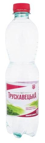 Трускавецька Вода мінерально-столова сильногазована 0,5 л 1 пляшка