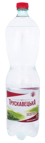 Трускавецька Вода мінерально-столова сильногазована 1,5 л 1 пляшка