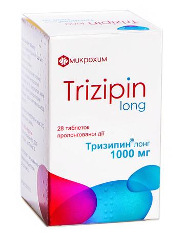 Тризипин Лонг таблетки 1000 мг 28 шт