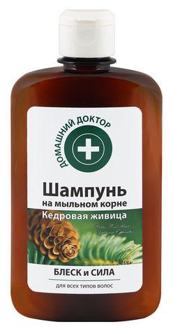 Домашній Доктор Шампунь Кедрова живиця Блиск та сила 300 мл 1 мл