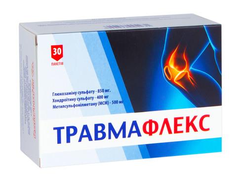 Травмафлекс порошок 4,3 г 30 пакетів
