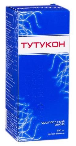 Тутукон розчин оральний 600 мл 1 флакон