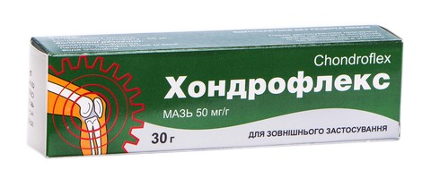 Хондрофлекс мазь 50 мг/г 30 г 1 туба