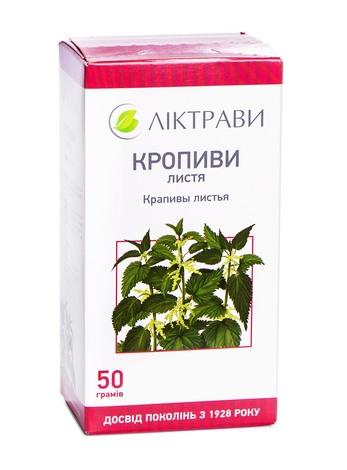 Ліктрави Кропиви листя 50 г 1 пачка