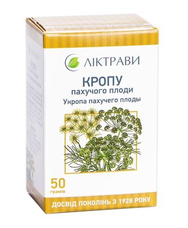 Ліктрави Кропу пахучого плоди 50 г 1 пачка