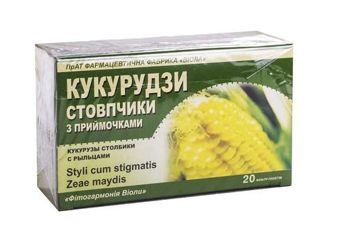 Віола Кукурудзи стовпчики з приймочками 1,5 г 20 фільтр-пакетів