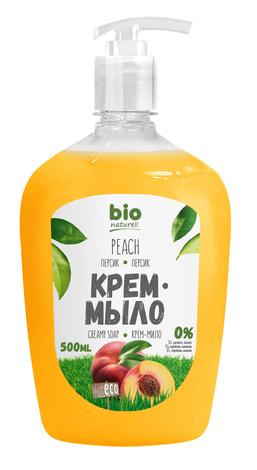 Bio Naturell Крем- мило рідке Персик 500 мл 1 флакон