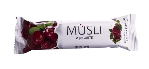 Tekmar Батончик Мюслі в йогурті Малина-брусниця  30 г