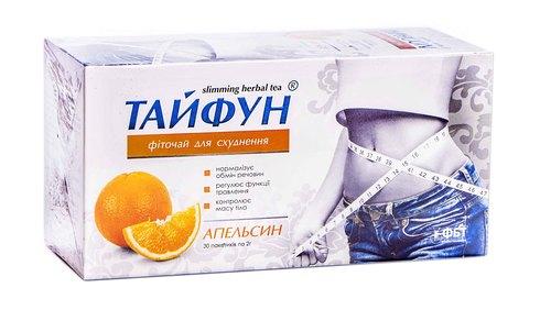 Тайфун Фіточай для схуднення Апельсин 2 г 30 фільтр-пакети