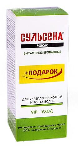 Сульсена Олія вітамінізована для укріплення та росту волосся 100 мл 1 флакон