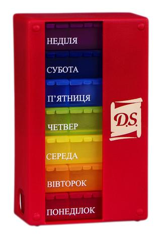 D.S. Таблетниця 1 шт