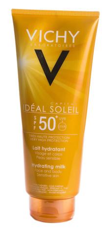 Vichy Capital Soleil Молочко сонцезахисне освіжаюче зволожуюче для обличчя і тілa SPF-50+ 300 мл 1 туба