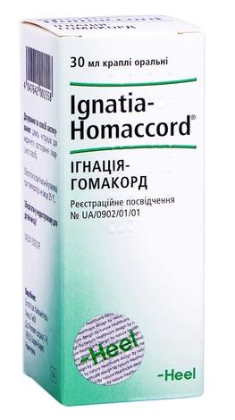 Ігнація-Гомакорд краплі оральні 30 мл 1 флакон