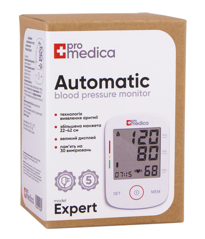 ProMedica Expert Тонометр автоматичний 1 шт