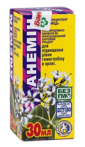 Анемін краплі оральні 30 мл 1 флакон