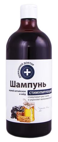 Домашній Доктор Шампунь стимулюючий Мумійо алтайське і мед 1000 мл 1 флакон
