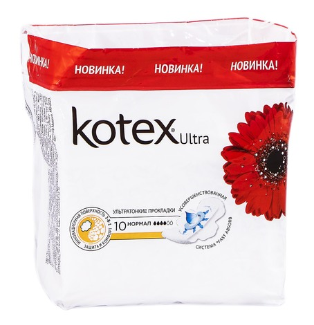 Kotex Ultra Dry Normal Прокладки гігієнічні 10 шт