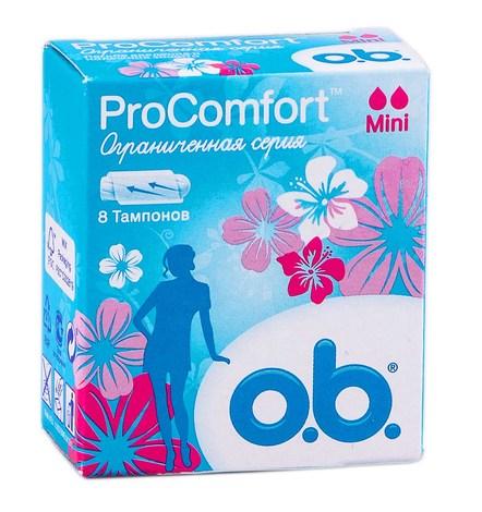 o.b. ProComfort Mini Тампони 8 шт