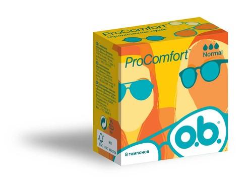 o.b. ProComfort Normal Тампони 8 шт